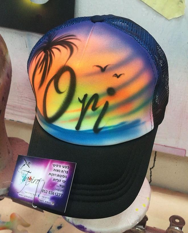 כובע גרפיטי למסיבת רווקות