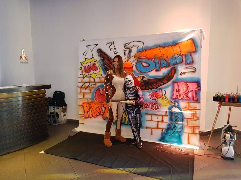 ציורי קיר גרפיטי לימיד הולדת